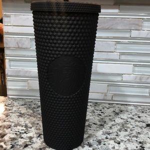 Starbucks Matte black studded cup